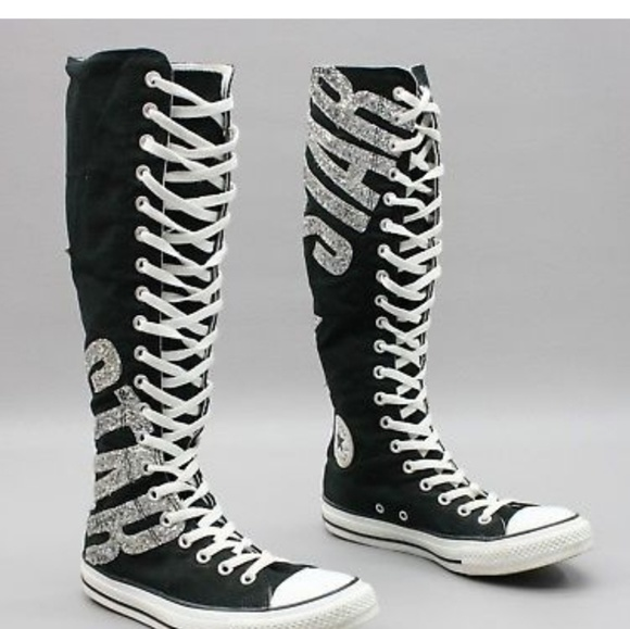 ??RARE EDITION! ??Glitter ??Knee High Chucks